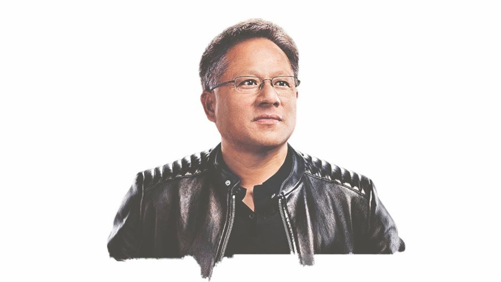 Jensen Huang, founder and CEO of Nvidia, 2020, Porsche AG