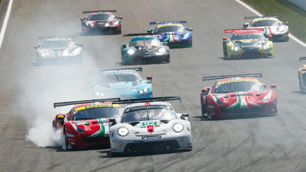 911 RSR, FIA World Endurance Championship, Spa-Francorchamps, 2021, Porsche AG