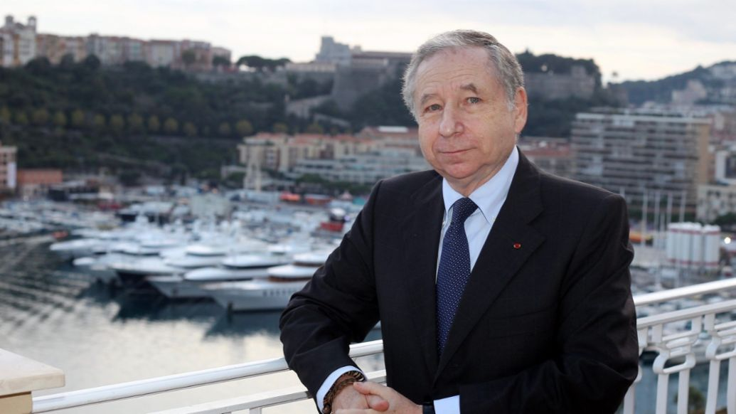 Jean Todt, President of the FIA, 2021, Porsche AG
