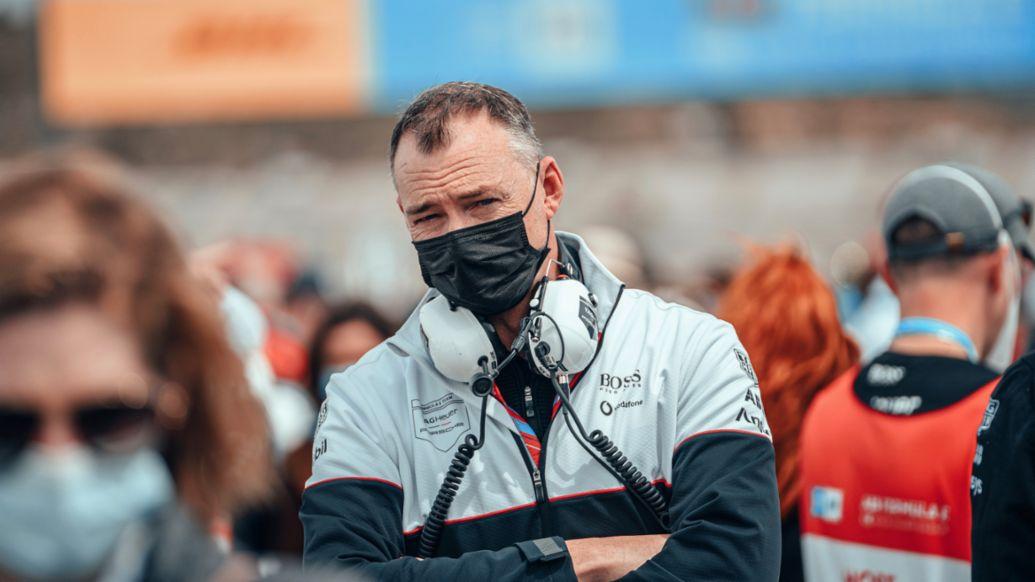 Amiel Lindesay, Head of Operations Formula E, 2021, Porsche AG
