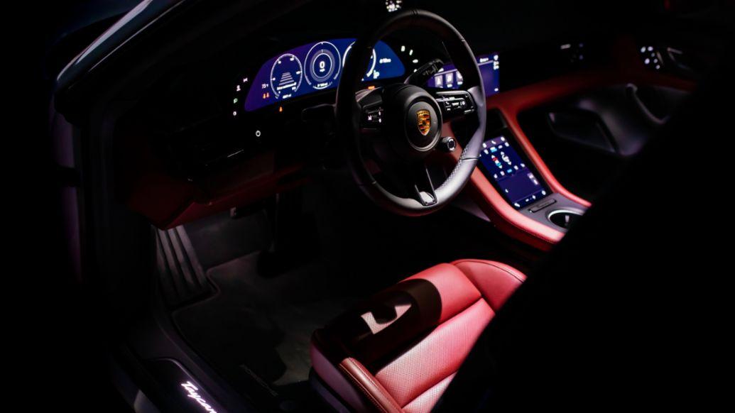 Taycan Turbo S, Austin, Texas, USA, 2021, Porsche AG