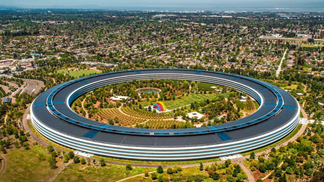 Apple Park, Cupertino, California, 2021, Porsche AG