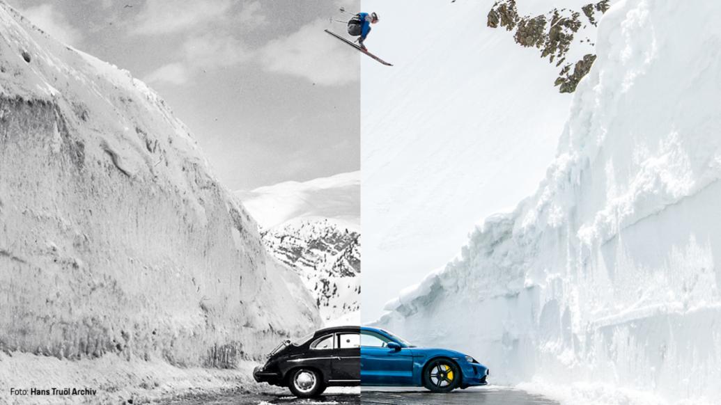 Aksel Lund Svindal, 356 B, Taycan Turbo, 2021, Porsche AG