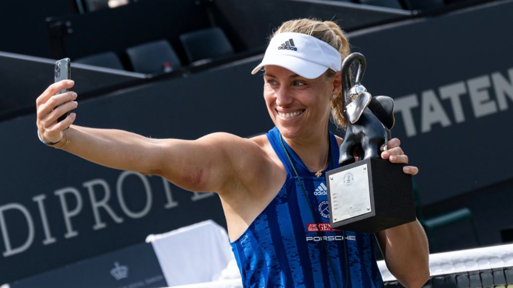 Angelique Kerber wins her 13th WTA title at the Bad Homburg Open - Image 1