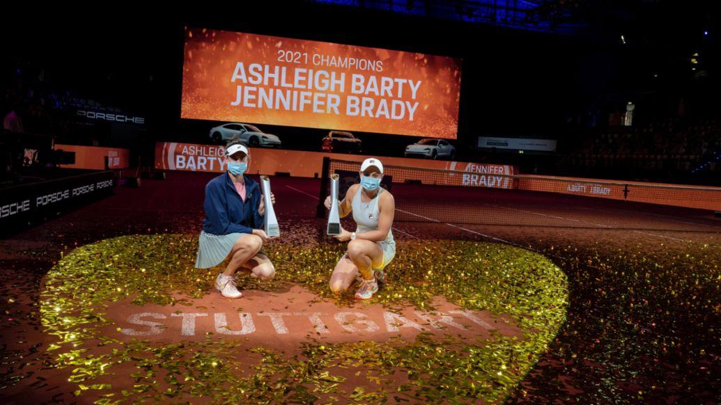 Ashleigh Barty writes tennis history in Stuttgart - Image 1