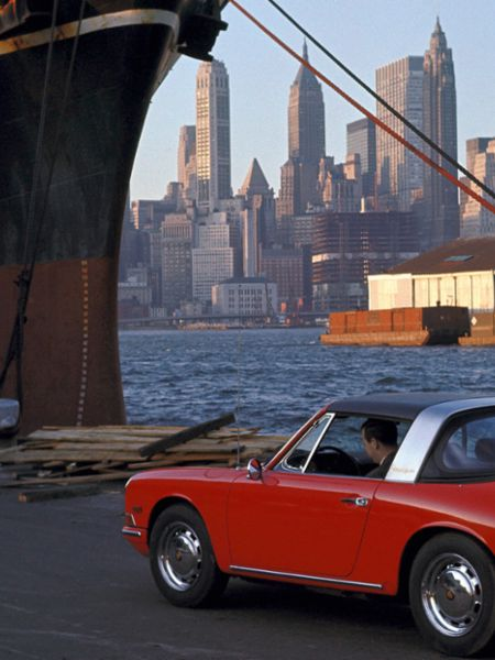 Porsche 912 Targa, New York City, Porsche AG