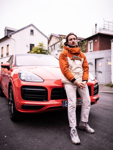 Lord Esperanza, Rapper, Roadtrip Back 2 Tape, Paris, 2020, Porsche AG