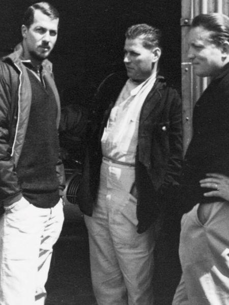 Helmuth Bott, Herbert Linge, Joakim Bonnier, Porsche AG