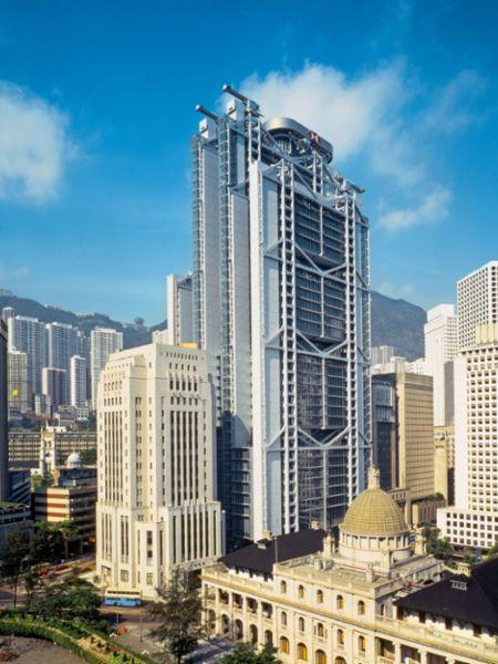 HSBC office tower, Hong Kong, 2021, Porsche AG