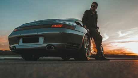 From Classic to Contemporary: Patrick Roberts and his 911 Carrera 4S