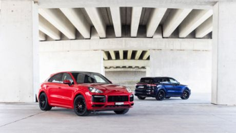 Product Highlights: Cayenne GTS – Exclusivity, dynamics and roaring V8 performance