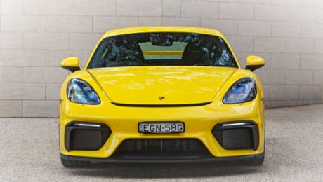718 Cayman GT4 - meant for something more