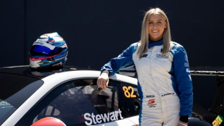 Madeline Stewart to drive McElrea Racing Porsche at The Bend