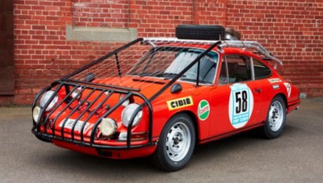 Cage Fighter - 1968 London-Sydney Rally Porsche restored