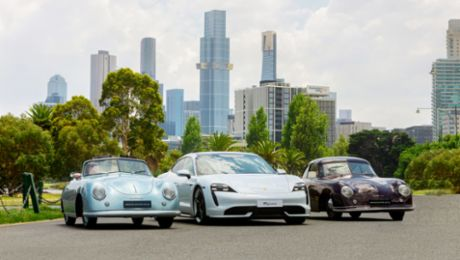 Porsche heritage meets its future, celebrating 70 years in Australia