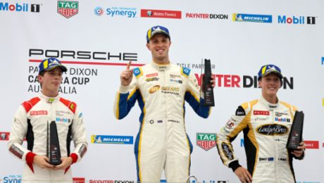 Cameron Hill strikes first in Porsche Paynter Dixon Carrera Cup Australia season opener