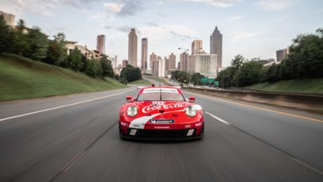 Coke® Is It! Porsche to Run Hometown Retro Livery at Petit Le Mans