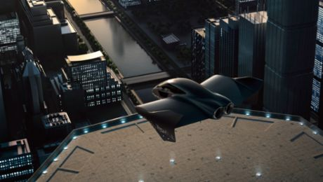 Porsche and Boeing to Partner on Premium Urban Air Mobility Market