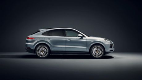 Now available to order: new Porsche Cayenne S Coupe with 434 hp