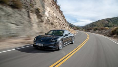 Porsche Taycan 4S Arrives At U.S. Dealers