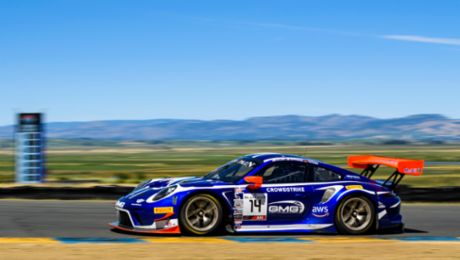 Sonoma Six Pack. GMG Enters Six Porsche Race Cars to Represent Brand in SRO.