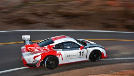 Peak Porsche. Porsche Presence at Pikes Peak Continues with New Models.