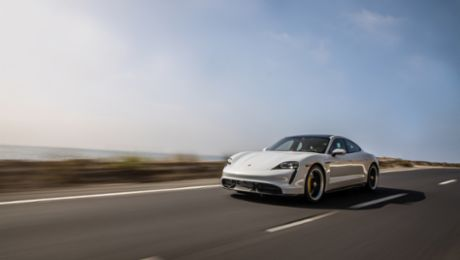 Porsche Taycan Charges Ahead in First Year on American Roads