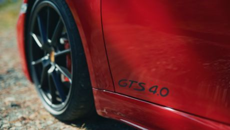 Six cylinders, naturally aspirated, manual gearbox: The new 718 GTS 4.0