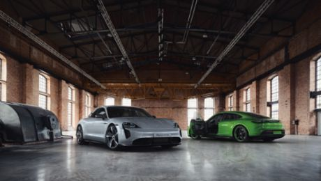Porsche Exclusive Manufaktur: around 90 finishing options for the Taycan