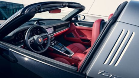 History of the Porsche Targa