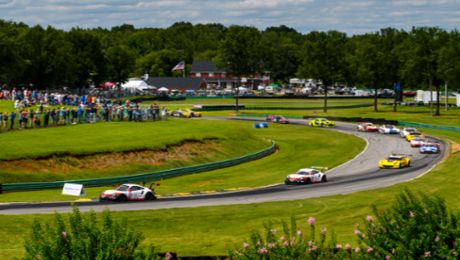 VIRtual Virginia. IMSA Series Draws 12 Sim Porsche Race Cars to VIR Round.