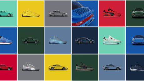Icons of Fast: Porsche and PUMA unveil limited shoe series inspired by the 911 Turbo