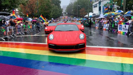 Where's the Porsche? Scavenger hunt for iconic sports cars part of 50th Atlanta Pride festivities