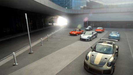 """Rooted in Racing"" exhibit opens at the Porsche Experience Center Atlanta"