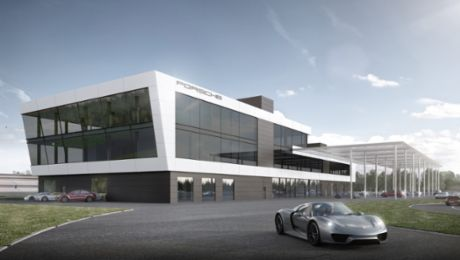 Porsche opens the seventh Experience Centre worldwide