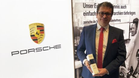 TopCareer Award für Porsche Financial Services