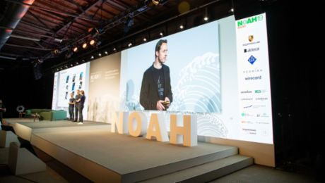 Porsche discusses next visions with startups at #NOAH19 in Berlin