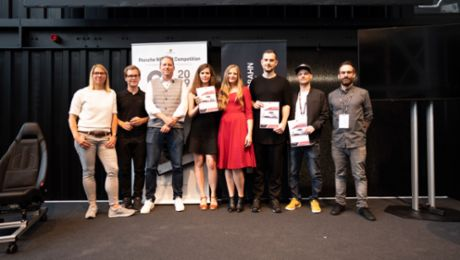 """GHOST – feel it."" start-up wins Porsche innovation competition"