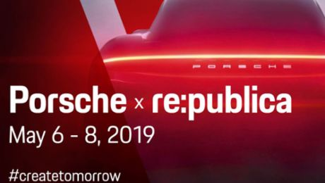 Porsche is the main partner of re:publica 2019
