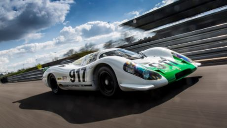 The Porsche 917-001: The trailblazer returns