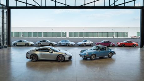 For eternity: the DNA of the new Porsche 911