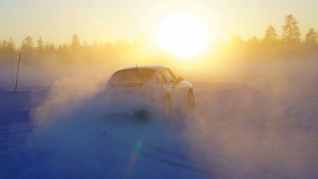 Ice cold: Through Swedish Lapland with the Porsche 964 C2