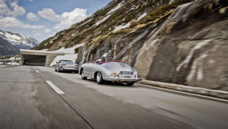 A passage through time over the Gotthard Pass