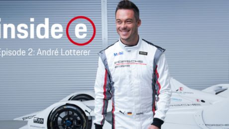 "Porsche homecoming: André Lotterer on the ""Inside E"" podcast"