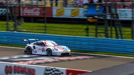 IMSA: Fourth win from five races for Porsche this season