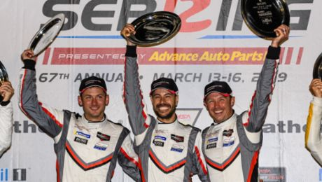 Super in Sebring: Porsche wins the twelve-hour race