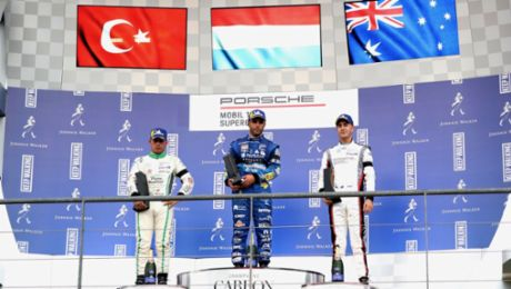 PMSC: Premiere for Dylan Pereira – Supercup pole at Spa-Francorchamps