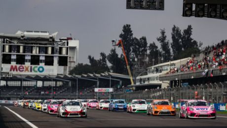 3,827 laps in the Porsche Mobil 1 Supercup