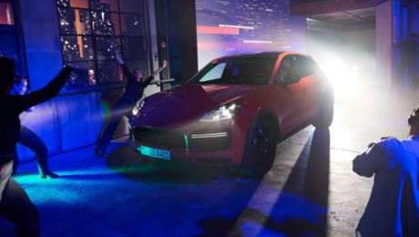 Porsche presents the all new Cayenne Coupé