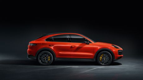 Porsche presents the Cayenne Coupe